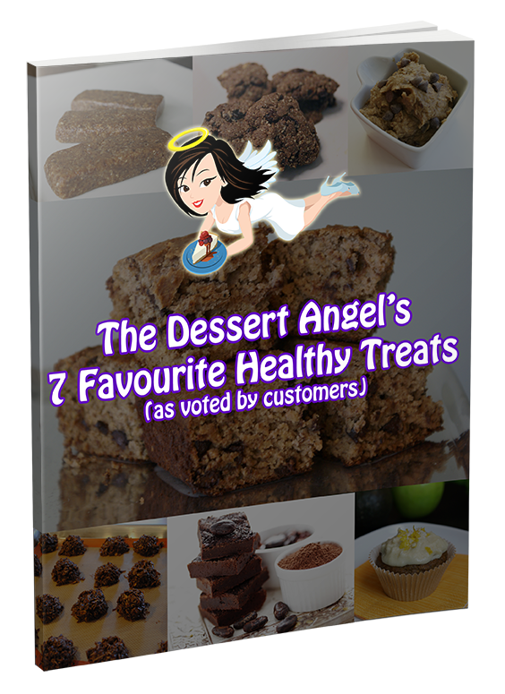 I absolutely LOVE these treats. Get your 7 healthy recipes by clicking on this link: http://thedessertangel.com/seven-healthy-desserts