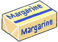 margarine has trans fat
