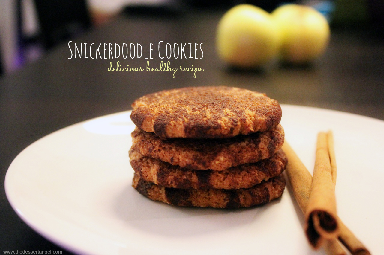 Yummy Snickerdoodle Cookies by TheDessertAngel.com